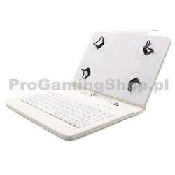 FlexGrip Sprawa z klawiaturą Lenovo IdeaTab A10-70 na, biały