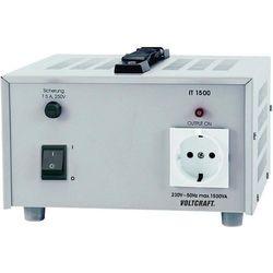 Transformator laboratoryjny Voltcraft IT-1500, gniazdo 230 V, 6,5 A, 1500 VA