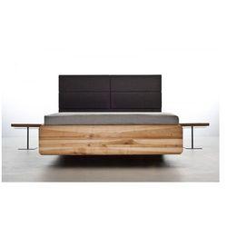 Designerskie łóżko do obiektu hotelowego z litego drewna olchowego Boxspring Mazzivo