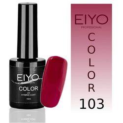 Lakier hybrydowy EIYO Elegance - kolor nr 103 - Czerwono Różowy - 15 ml Lakiery hybrydowe