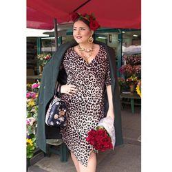 cc2c949272 ... (suknie sukienki asos plus size ladna sukienka w kratke) we wszystkich  kategoriach. CHITA asymetryczna sukienka plus size w cętki