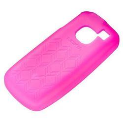 Etui Silikonowe Nokia CC-1027 Różowe do Nokia C1-01 - Różowy