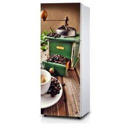 Naklejka na lodówkę - Młynek do kawy - Naklejka laminowana