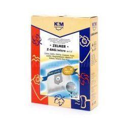 Worki K&M Z-BAG MICRO Zelmer 321, 400, 2000, Elf 4szt + filtr