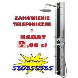 GWARANCJA NAJNIŻSZEJ CENY !   Panel prysznicowy z hydromasażem Araga S-011, CORSAN   Transport gratis! PROMOCJA! Przy zamówieniu telefonicznym RABAT 40,00 zł