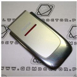Obudowa Nokia 6060 przednia srebrna