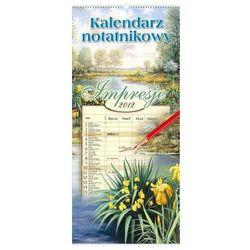 Kalendarz 2012 WN01 Impresje kalendarz notatnikowy