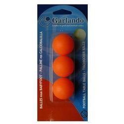 Piłeczka GARLANDO ORANGE - blister 3 szt.