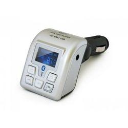 Elmak SAVIO TR-04 Transmiter FM plus funkcja Bluetooth