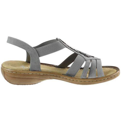 Sandały Rieker 60800 Szare porównaj zanim kupisz