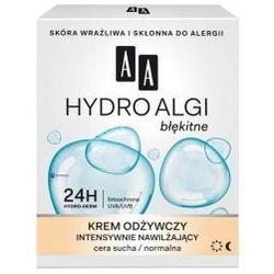 AA Hydro Algi Błękitne (W) krem odżywczy intensywnie nawilżający cera sucha/normalna 50ml