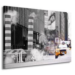 Taxi New York - Obraz na płótnie