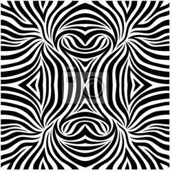 Fototapeta Zebra background.