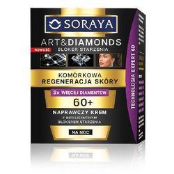 SORAYA ART AND DIAMONDS KOMÓRKOWA REGENERACJA SKÓRY NAPRAWCZY KREM NA NOC 60+ NEW 50ML