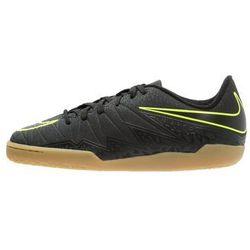 Nike Performance HYPERVENOM PHELON II IC Halówki black/volt
