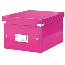 Pudło uniwersalne Leitz Click&Store Wow 6043 - różowe