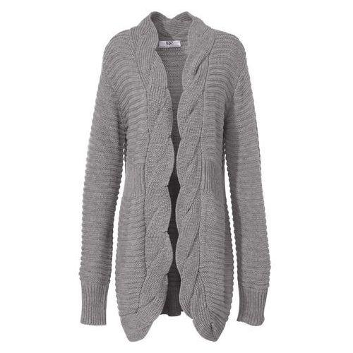 41bdda3259c1a5 Sweter bez zapięcia bonprix jasnoszary melanż - porównaj zanim kupisz