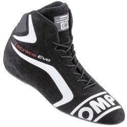 Buty OMP TECNICA EVO czarne (homologacja FIA)