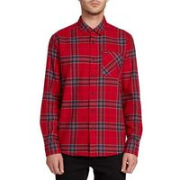 koszulka VOLCOM - Caden Plaid L/S Engine Red (ENR)