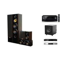 PIONEER VSX-930 + BDP-180 + TAGA TAV-606 v3 + TSW-120 - Kino domowe - Autoryzowany sprzedawca
