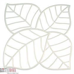 Panel dekoracyjny Koziol Leaf liście biały 4 szt. KZ-2043525