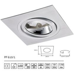 Lampa sufitowa PP Design 610/1