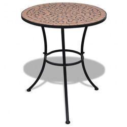 Mozaikowy stolik 60 cm Terracotta Zapisz się do naszego Newslettera i odbierz voucher 20 PLN na zakupy w VidaXL!