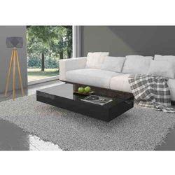 Stolik Pixel 120cm Czarny Wysoki Połysk