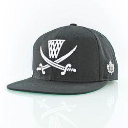 czapka z daszkiem K1X - Pirate Black/White (0010) rozmiar: OS