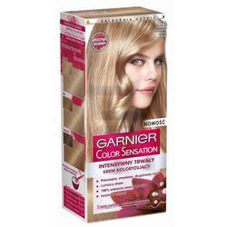 Garnier Color Sensation Intensywnie trwały krem koloryzujący do włosów Świetlisty Jasny Blond nr 8.0