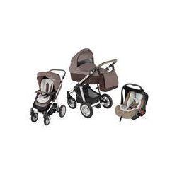 Wózek wielofunkcyjny 3w1 Lupo Dotty + Leo Baby Design (brązowy)
