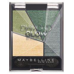 Maybelline Diamond Glow poczwórne cienie do powiek nr5 Forest Drama