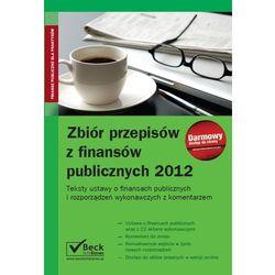 Zbiór przepisów z finansów publicznych 2012 (opr. miękka)