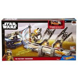 HOT WHEELS TOR TORY ZESTAW STAR WARS Pętlę +AUTO