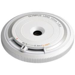 Obiektyw OLYMPUS Body Cap Lens 15MM 1:8.0 Biały