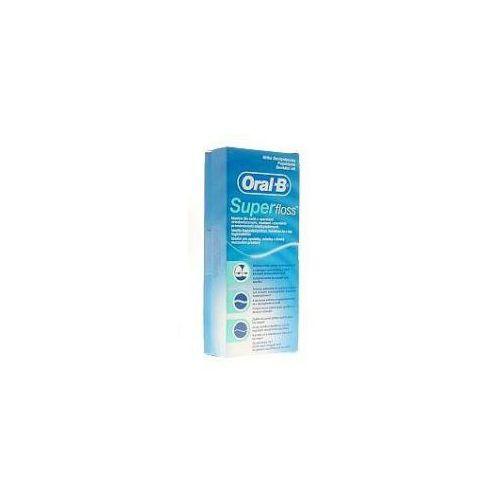 Oral-B Floss Super,R82552,nici,dent.do mostow,50szt