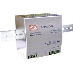 Zasilacz na szynę DIN Mean Well DRP-240-24, 24 V/DC, 10 A, 240 W, 1 x