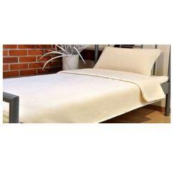 Kaszmir 160x200cm biały kołdra wełniana