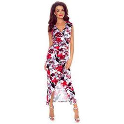 30da6308be suknie sukienki czerwona dluga koronkowa suknia wieczorowa koronkowe ...