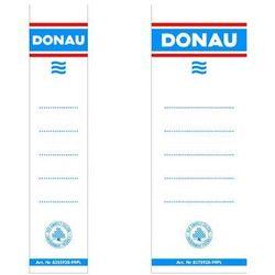 Etykiety do segregatorów samoprzylepne DONAU 33x153mm 20szt.