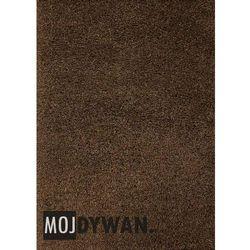 Dywan Super Shaggy kasztanowy brązowy 120x170 prostokąt
