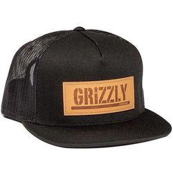 czapka z daszkiem GRIZZLY - Trademark Blk (BLK)