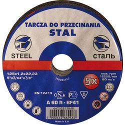 Tarcza szlifierki kątowej do stali, 125mm