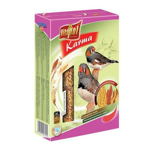 VITAPOL Pokarm pełnowartościowy dla zeberek i ptaków egzotycznych 500g