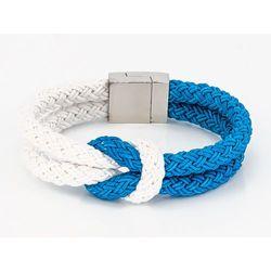 Bransoletka marynarska niebieska - NIEBIESKA