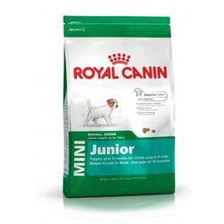 Royal Canin Mini Junior 0,8/2/4/8 kg Waga:0,5 + 0,3 kg
