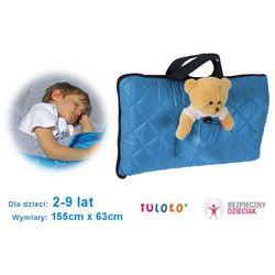Śpiwór do spania dla dziecka, 155x 63 cm, TULOKO - Niebieski
