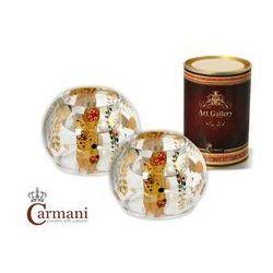 Świecznik - zestaw 2 szt - kolekcja Klimt