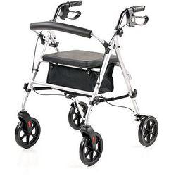 Podpórka 4 kołowa rehabilitacyjna dla osób starszych, oraz osób potrzebujących podparcia - ROCKY