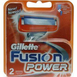 GILLETTE FUSION POWER 2 SZT WKŁADY
